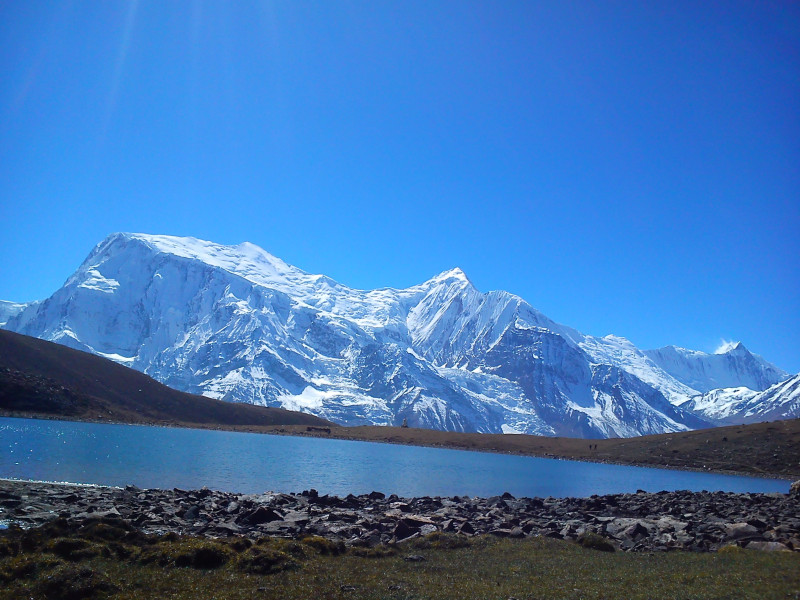 Ice lake, manang